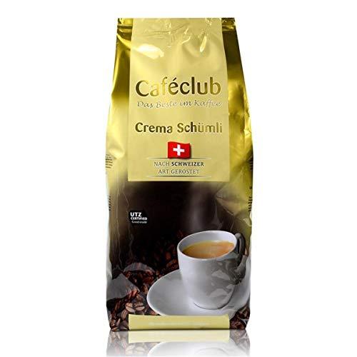 Cafeclub Supercreme Schweizer Schümli Kaffee Bohnen 1kg