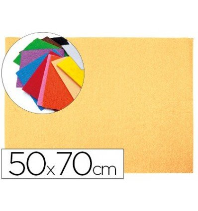 Liderpapel - Goma eva 50x70cm 60g/m2 espesor 2mm textura toalla carne (10 unidades)