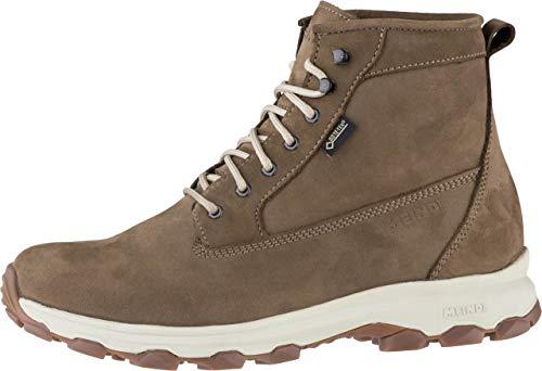 Meindl Vancouver GTX Mujer Piel Boots Natural, Piel Soporte + Borreguito Cama,...