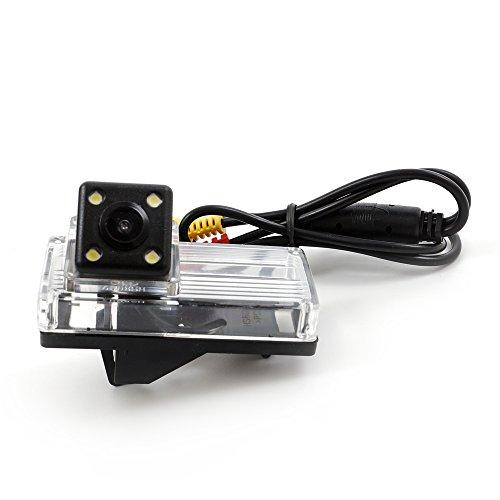 CCD Suivi de Voiture Caméra de recul Corolla 2014 Camera inversée Caméra de recul Aide au stationnement Camera Track Line LED Vision de Nuit Etanche