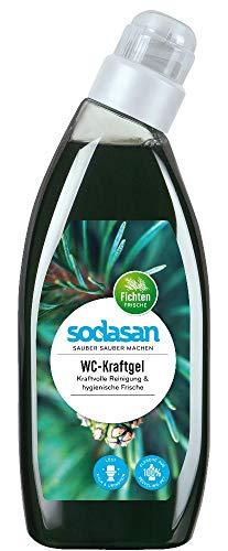 6 x 750 ml SODASAN WC-Reiniger Kraftgel