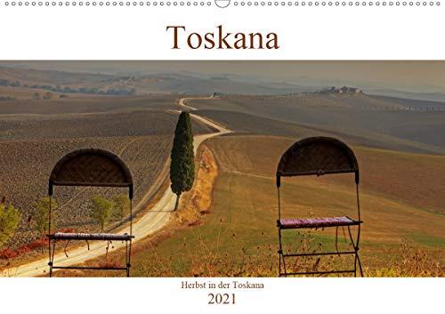 Herbst in der Toskana (Wandkalender 2021 DIN A2 quer)