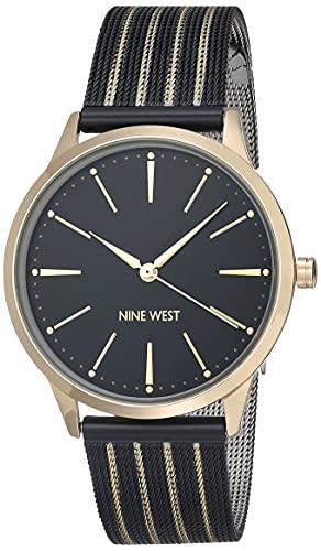 Nine West Dress Watch (Model: NW/2566GPBK)
