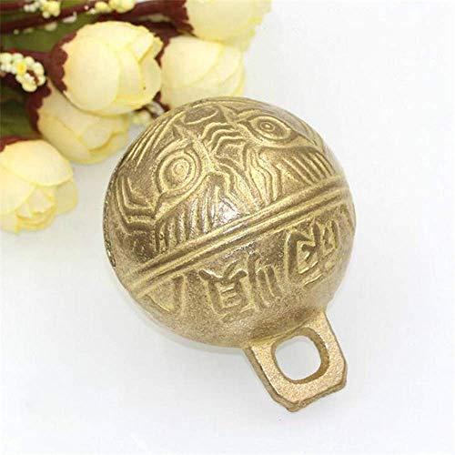 6,5 cm Vintage Messing Koe Klok Paard Schapen Camel Hond Huisdier Grazing Bell DIY Craft Room Decoraties COD