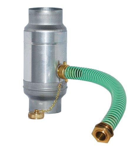 Zink Wassersammler mit Schlauchanschluss und Schlauch 1