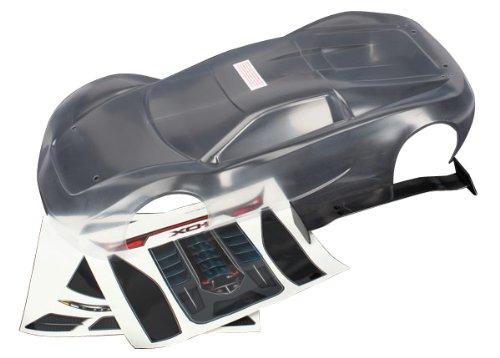 Traxxas 16.283,9cm xo-1mit Aufkleber Körper Modell Kfz-Teile, Transparent