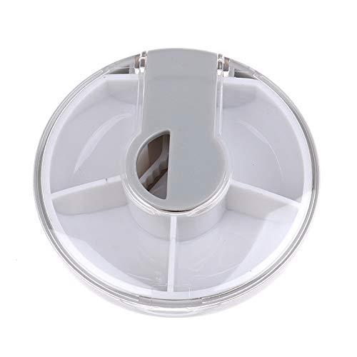 AIHONG Portátil 1 unids Mini Cortador de píldora Caja de Medicina Píldora Píldora Amoladora Splitter Tablet Cutter Cutter Caja de Almacenamiento Píldora Caja de píldora para Pastillas/Suplementos