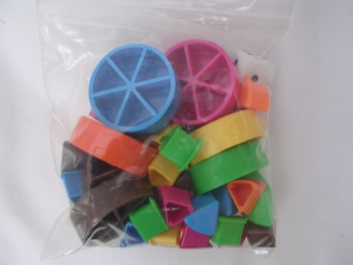 Trivial Pursuit Game Pieces ; for Genus II, III, IV, V, Boomer and other Subsidiary Card Sets by Trival Pursuit