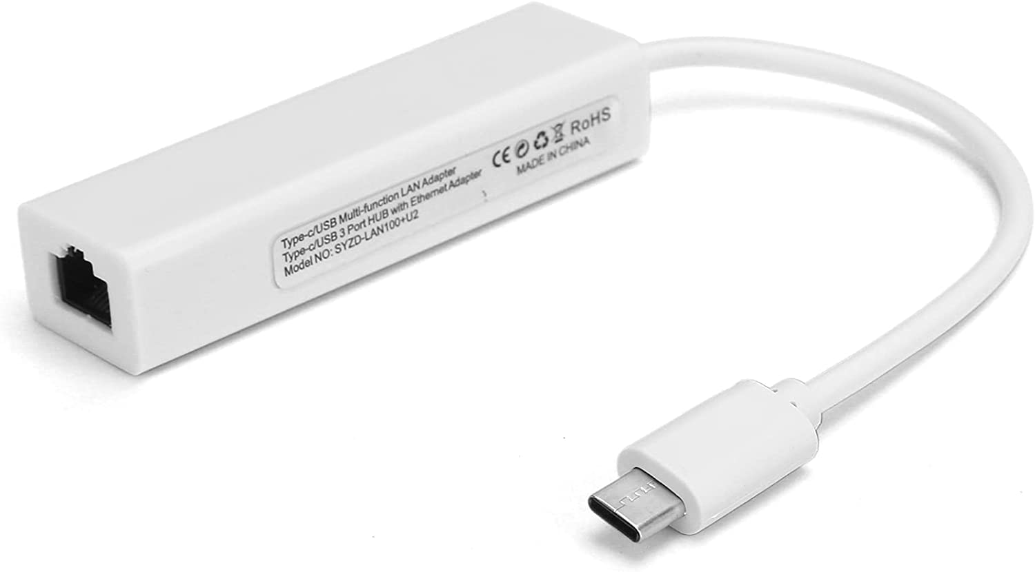 67% OFF of fixed price Zhiyavex USB C to Ethernet Type 2.0 Adapter Memphis Mall Ethern RJ45