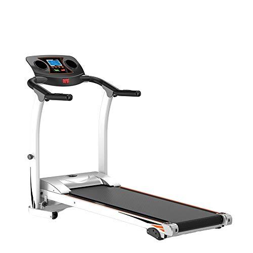 XCBW Cinta de Correr Plegable eléctrica Inteligente, Velocidad Ajustable, Pantalla LCD, para...