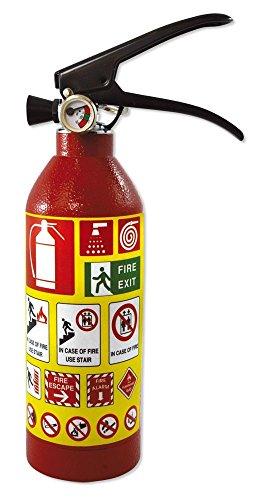 Escondite Diversion extintor–Hucha caja fuerte color rojo