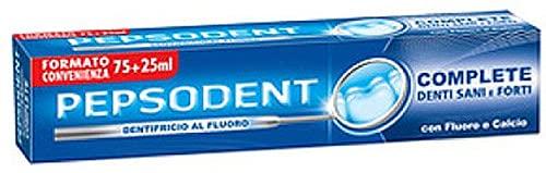 Pepsodent Set 24 Dentifricio Fluor Fresh 75+25Ml Igiene e Cura dei Denti, Multicolore, Unica
