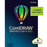 CorelDRAW Graphics Suite | Suscripción de 12 meses | Ilustración vectorial, diseño de páginas y edición de imágenes| 1 Dispositivo | 1 Usuario | PC | Código de activación PC enviado por email