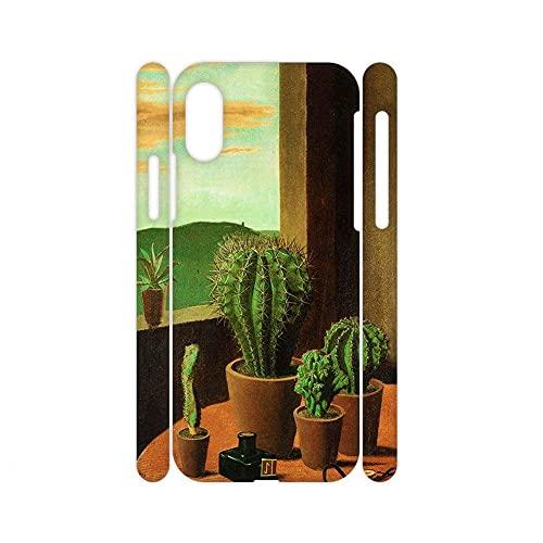Desconocido para Niño Personaje Impresión Cactus Compatible para Apple iPhone X MAX/XS MAX Conchas De Abs