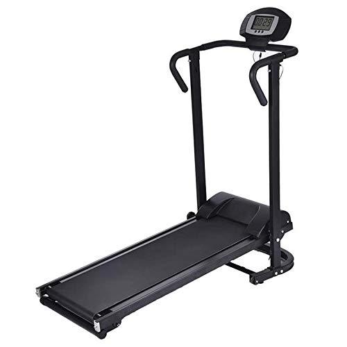 LQP-cinta de correr electrica Alto rendimiento Cardio Trainer autoalimentado Manual de cinta de correr con inclinación ajustable, resistencia magnética, más de 400 libras de alta capacidad de peso, no