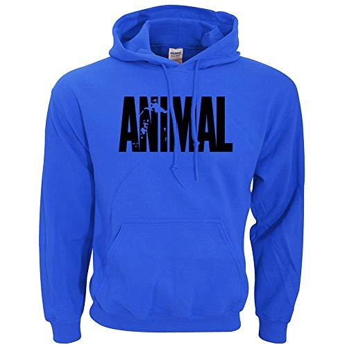 Sweatshirt Herren Bodybuilding Animal Hoodies Männer Sport Fitness Loose Fit Gyms Musclefitting Männliches Sweatshirt Hoodie C XXL