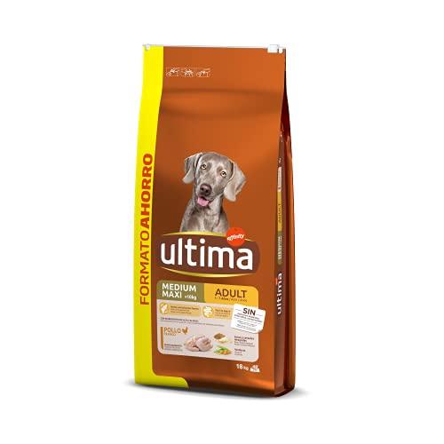 Ultima Cibo per Cani Medium-Maxi Adult con Pollo - 18 kg