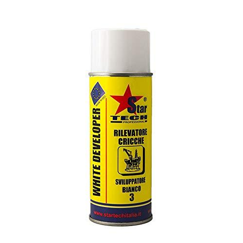 Sviluppatore bianco per cricche spray 400 ml WHITE-DEVELOPER STAR TECH