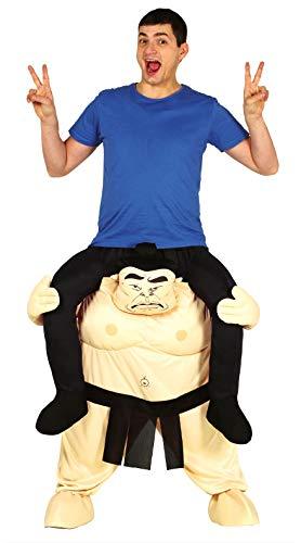 Guirca- Disfraz adulto carry me sumo, Talla 52-54 (88284.0)