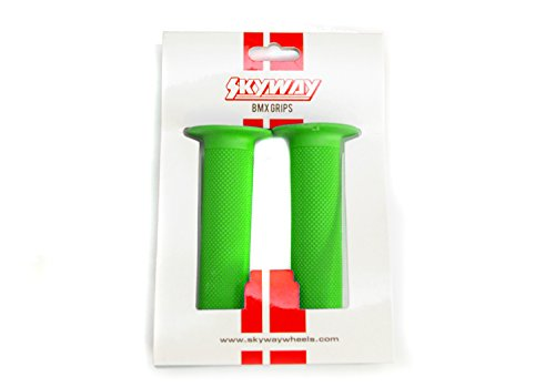 Skyway BMX Grips Griffe Fahrrad Griff, Farbe:Grün