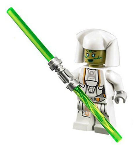 New Lego Star Wars Jedi Consular Minifig Figure 75025 Old Republic White Female