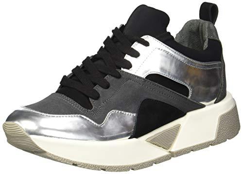 Dolce Vita Women's Walter Sneaker, Black Suede, 10 M US