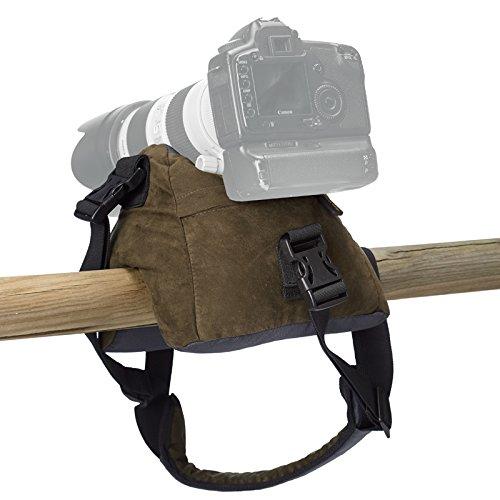 Stealth Gear - Base d'appoggio/protezione per fotocamera, imbottitura non inclusa, colore: Verde foresta