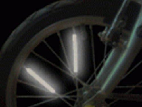 GAMEDAY Pack of 10 Bike Ranking TOP13 Arlington Mall Spoke reflectors