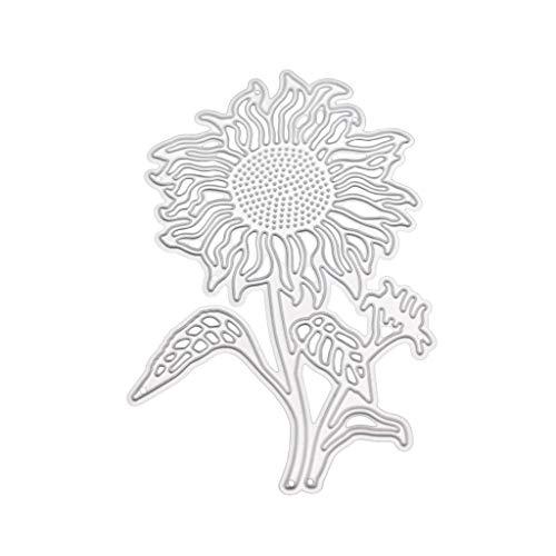 Sonnenblumen-Flaschenformen, Sonnenblumen-Flasche, Metall Stanzformen, Schablone, Scrapbooking, DIY Album, Stempelpapier