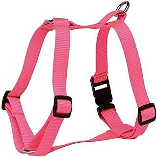 "Prestige Pet Products Dog Harness 3/4"" X 12-20"" (30-51cm), Hot Pink"