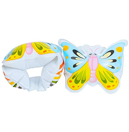 Water Wings for Toddlers   Butterfly Swimmies for Kids 5-12 Years   Inflatable Arm Floaties for Girls