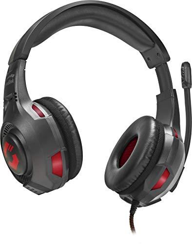 Speedlink GARON Gaming Headset - Gaming Headset mit Stereo Sound für PC/Notebook/Laptop, schwarz
