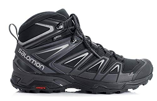 Salomon X Ultra 3 Mid GTX, Zapatillas de senderismo altas para hombre, (Black India Ink), 42 EU