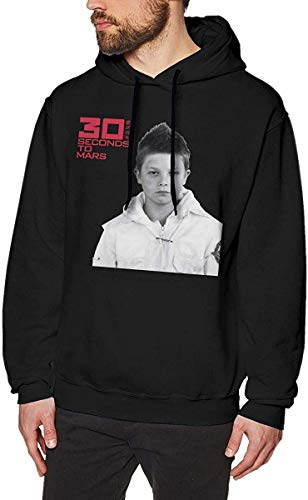CINDYO 30 Seconds to Mars Mens Hoodies Sweater Black