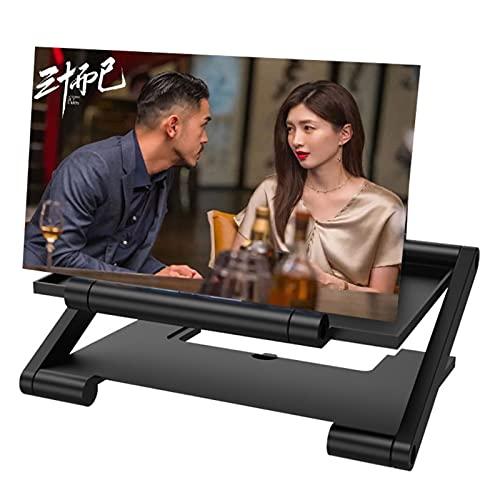 XUETTINGMY Dünne Faltbare Telefonlupe,HD-3D-Bildschirm-Vergrößerung,einfach um einstellbar für Männer-Geschenke,Movies-Telefonprojektor (trapez)