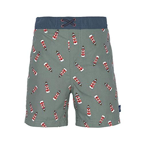LÄSSIG Schwimmwindel Pantalones Cortos, Lighthouse Boys, 12 Meses Unisex bebé