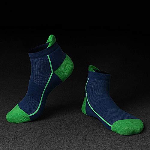 N-B Calcetines de algodón de Tubo Corto para Hombre, Calcetines Deportivos, Calcetines con Fondo de Toalla, Calcetines de Malla Informales para Baloncesto, al Aire Libre, Invierno Grueso