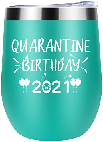 Quarantine Birthday 2021 Funny Novelty Present for Women Men Sisters Friends Grandma Aunt Daughter product image