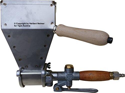 Putzwerfer Kurz 1 und 3 Loch Technik mit Druckluft die Alternative zu teuren Putzmaschinen