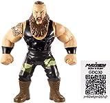 "WWE Retro Aplicación Braun Strowman Figura Serie 8 4.5 "" Lucha Libre Mattel Figura..."