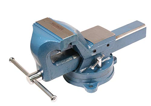 WELDINGER Schraubstock pro 125 mm Backenbreite 360° drehbar Rohrspannbacken