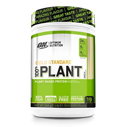 ON 100% Gold Standard Pflanzenprotein 684 g 100% Vegan Vegetarisch (Erbsenprotein, Reisprotein, kein Sojaprotein)