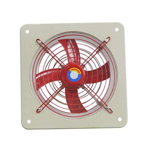 Ventilador de extracción Ventilador cuadrado de ventilación del hogar Ventilador de extracción de cocina Ventilador de extracción industrial Se puede utilizar en baños de cocina y ventiladores de gara