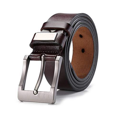 Riem voor heren Men's Belt Jeans Leren Riem Jurk Zwart Bruin Regelmatige grote en hoge Size 28