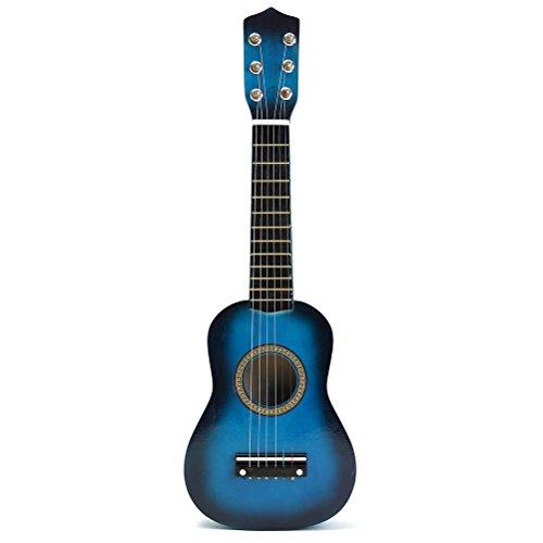 TOYMYTOY Guitarra acústica para niños de 21 pulgadas, portátil, tamaño...