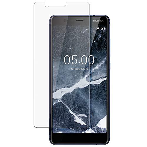 disGuard Schutzfolie für Nokia 5.1 [2 Stück] Entspiegelnde Bildschirmschutzfolie, MATT, Glasfolie, Panzerglas-Folie, Bildschirmschutz, Hoher Festigkeitgrad, Glasschutz, Anti-Reflex