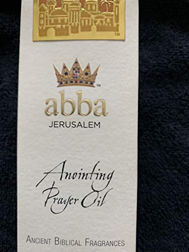 Abba Products 85457 Anointing Oil-Pray For The Peace Prayer Oil Frankincense-4 oz.