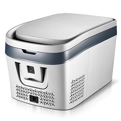 WYKDL YYDGQ hause camping kühlschrank Auto Heiß Kalt Tragbare Geräuscharm Mini Kühlschrank für Auto Kompakt, Tragbar & Leise für Auto Schlafzimmer, büro
