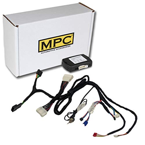 MPC Complete Plug-n-Play Factory Remote Activated Remote Start Kit for 2013-2018 Toyota RAV4 Push-to-Start Only - w/T-Harness. No Need to Carry Extra Key fobs!