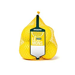 AMAZZING Unwaxed Lemons - Pack of 5